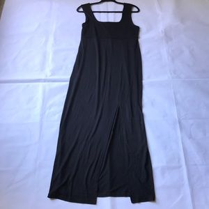 NWT ASOS maternity black maxi dress size 8